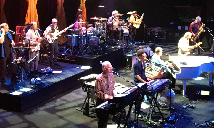 Brian Wilson and band 20160329